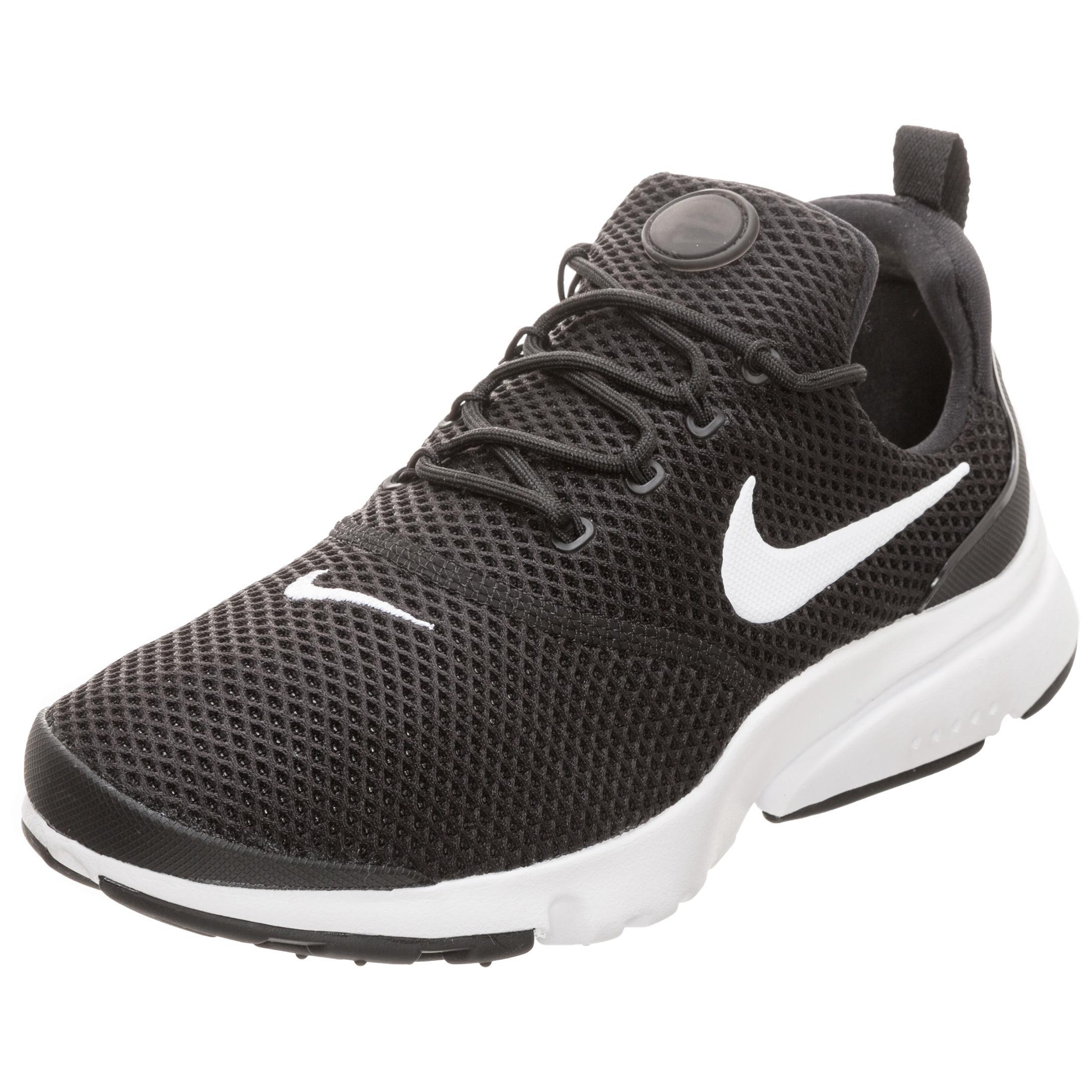 Nike Air Presto Fly Sneaker Damen schwarz / weiß im Online Shop von ...