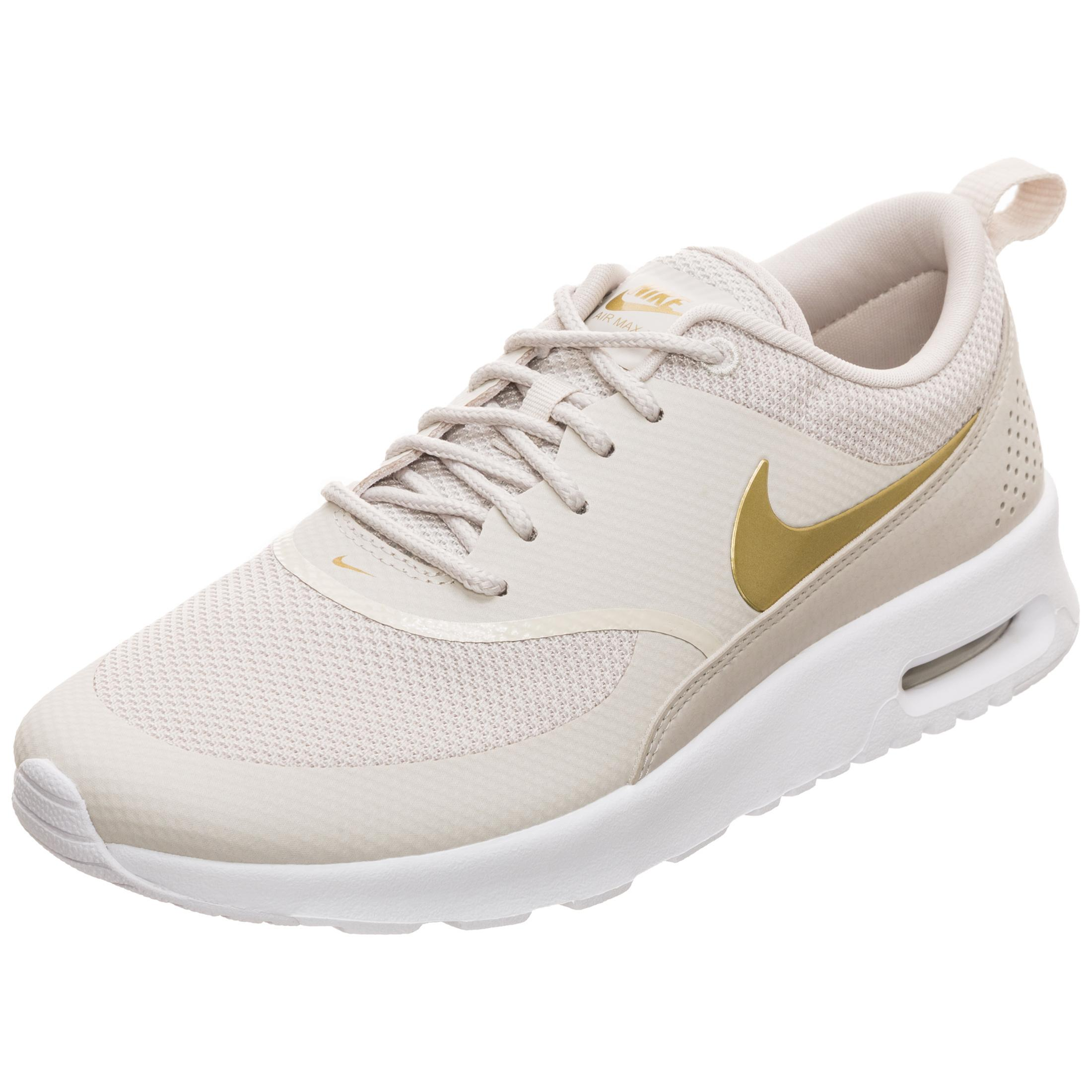 latest discount cheap for sale premium selection Nike Air Max Thea J Sneaker Damen beige / gold im Online Shop von  SportScheck kaufen