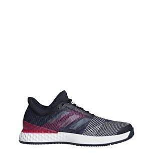 adidas Adizero Ubersonic 3.0 Clay Tennisschuhe Herren Legend Ink / Ftwr White / Shock Pink
