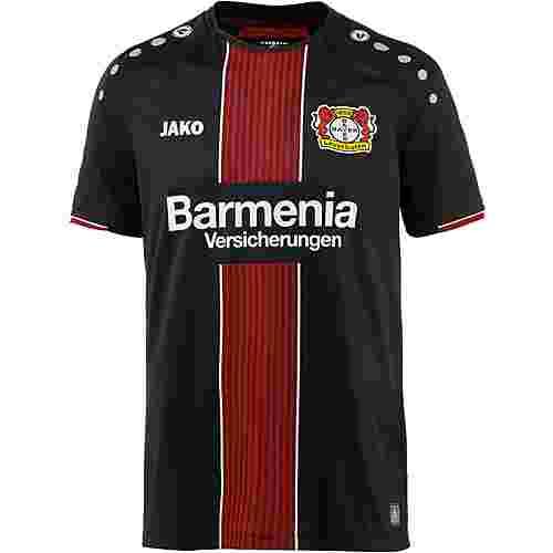 JAKO Bayer 04 Leverkusen 18/19 Heim Fußballtrikot Herren schwarz