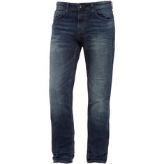 TOM TAILOR Piers Slim Fit Jeans Herren dark stone wash denim