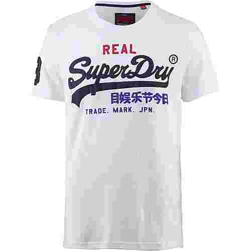 Superdry Vintage Logo T-Shirt Herren optic
