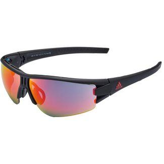 adidas Evil Eye Halfrim L Sportbrille black matt-red