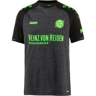 JAKO Hannover 96 18/19 Auswärts Fußballtrikot Herren schwarz