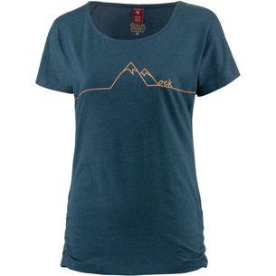 OCK Printshirt Damen dunkelblau