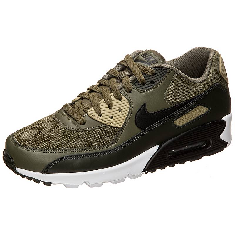 separation shoes 9002c c42cf ... closeout nike air max 90 essential sneaker herren grün schwarz 40edb  48023