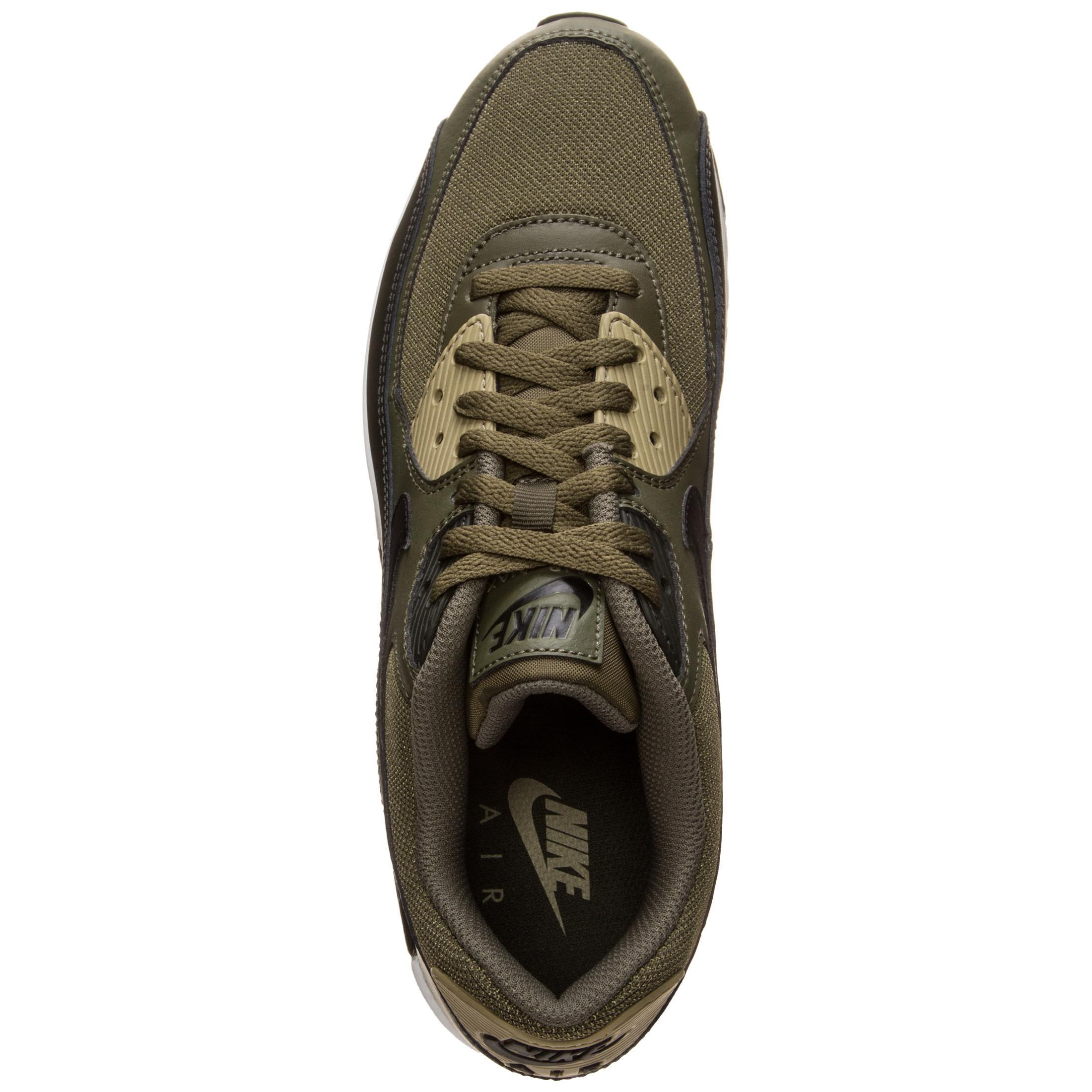 Nike Air Max 90 Essential Sneaker Herren grün schwarz im Online Shop von SportScheck kaufen
