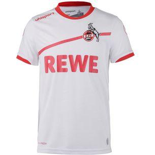 Uhlsport 1.FC Köln 18/19 Heim Fußballtrikot Kinder weiß