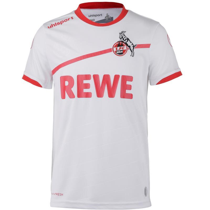 Uhlsport 1fc Köln 1819 Heim Fußballtrikot Kinder Weiß Im Online