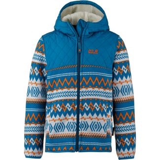 Jack Wolfskin Fleecejacke Kinder glacier blue all over