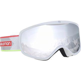 Salomon Sense Skibrille Damen White Corail