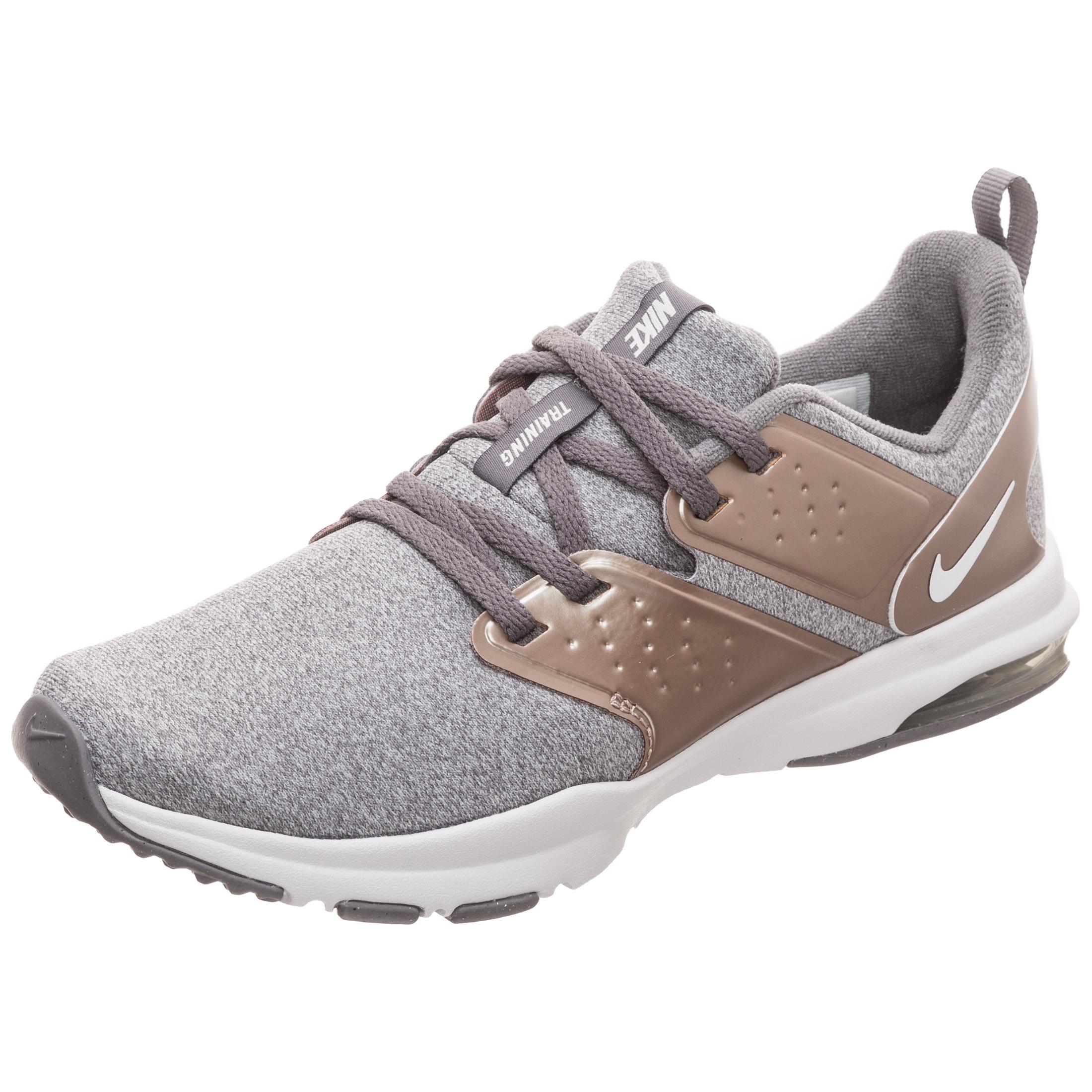 Nike Air Bella TR Premium Fitnessschuhe Damen grau / rosa im Online ...