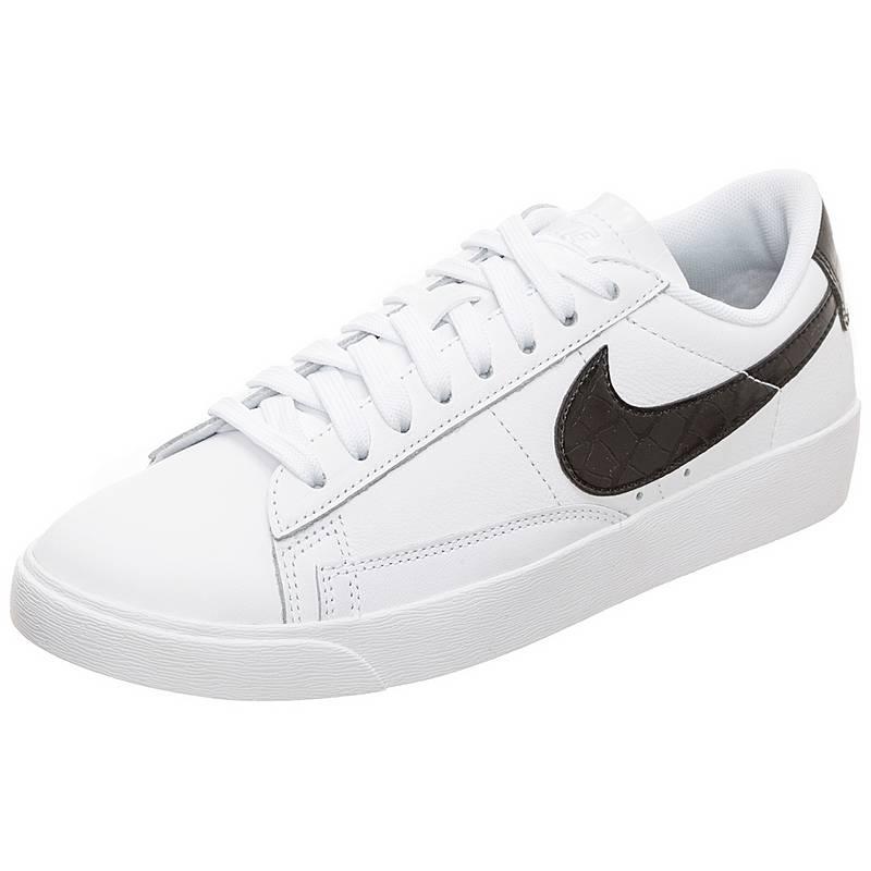 ff4f7b90112d2c ... france nike blazer low sneaker damen weiß schwarz ec7d1 dddd0