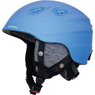ALPINA GRAP 2.0 Skihelm blue-neon-yellow matt