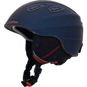ALPINA GRAP 2.0 L.E. Skihelm nightblue-bordeaux matt