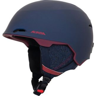 ALPINA Alpina Maroi Skihelm nightblue-bordeaux matt