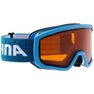 ALPINA SCARABEO JR. Skibrille Kinder lightblue