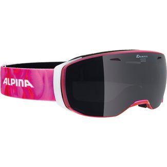 ALPINA ESTETICA MM Skibrille pink translucent