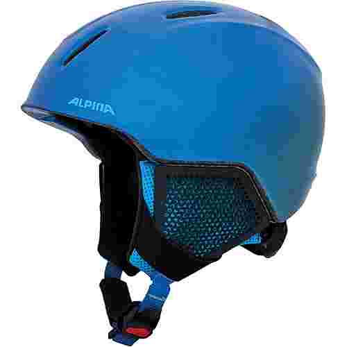ALPINA CARAT LX Skihelm Kinder blue
