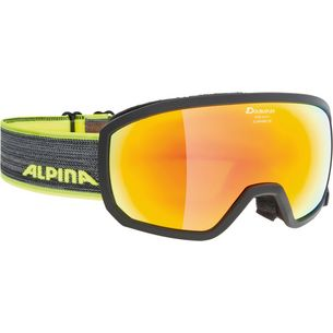 ALPINA SCARABEO JR. Skibrille Kinder black