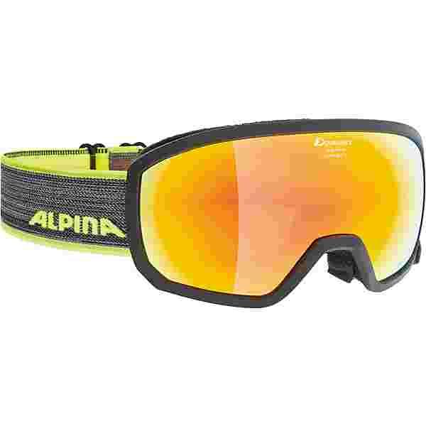 ALPINA SCARABEO JR. Skibrille Kinder black