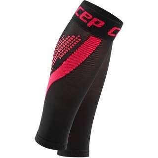 CEP Nighttech Calf Kompressionsstrümpfe Damen black-pink