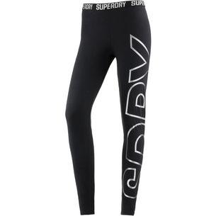 Superdry Leggings Damen black