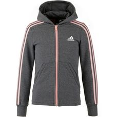 adidas Sweatjacke Kinder dark grey heather