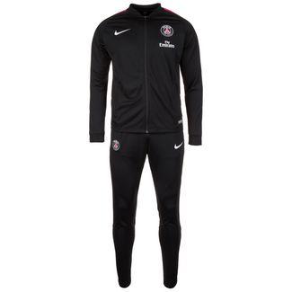 Nike Paris St.-Germain Dry Squad Trainingsanzug Herren schwarz / pink