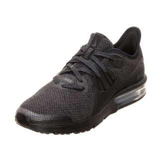 Nike Air Max Sequent 3 Laufschuhe Kinder schwarz / anthrazit