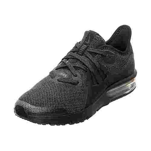 Nike Air Max Sequent 3 Laufschuhe Kinder schwarz / anthrazit