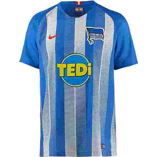 Nike Hertha BSC 18/19 Heim Fußballtrikot Herren hyper cobalt-white-speed red