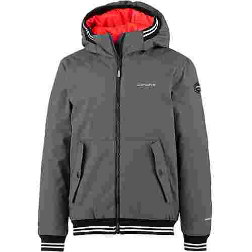ICEPEAK Funktionsjacke Kinder lead grey