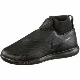 Nike JR Phantom VSN ACADEMY DF IC Fußballschuhe Kinder black-black-lt crimson