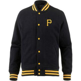 New Era Pittsburgh Pirates Collegejacke Herren black