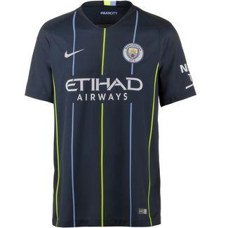 Nike Manchester City 18/19 Auswärts Fußballtrikot Herren dark obsidian-white