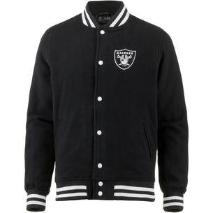 New Era Oakland Raiders Collegejacke Herren black