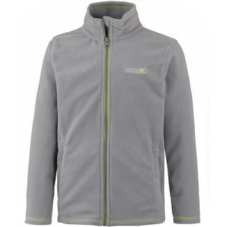 Regatta King II Fleecejacke Kinder rock grey