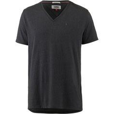 Tommy Jeans Original Triblend V-Shirt Herren tommy black