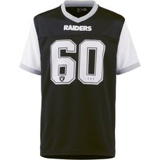 New Era Oakland Raiders V-Shirt Herren black-optic white