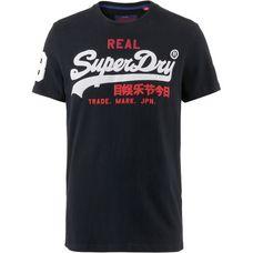 Superdry Vintage Logo T-Shirt Herren eclipse navy