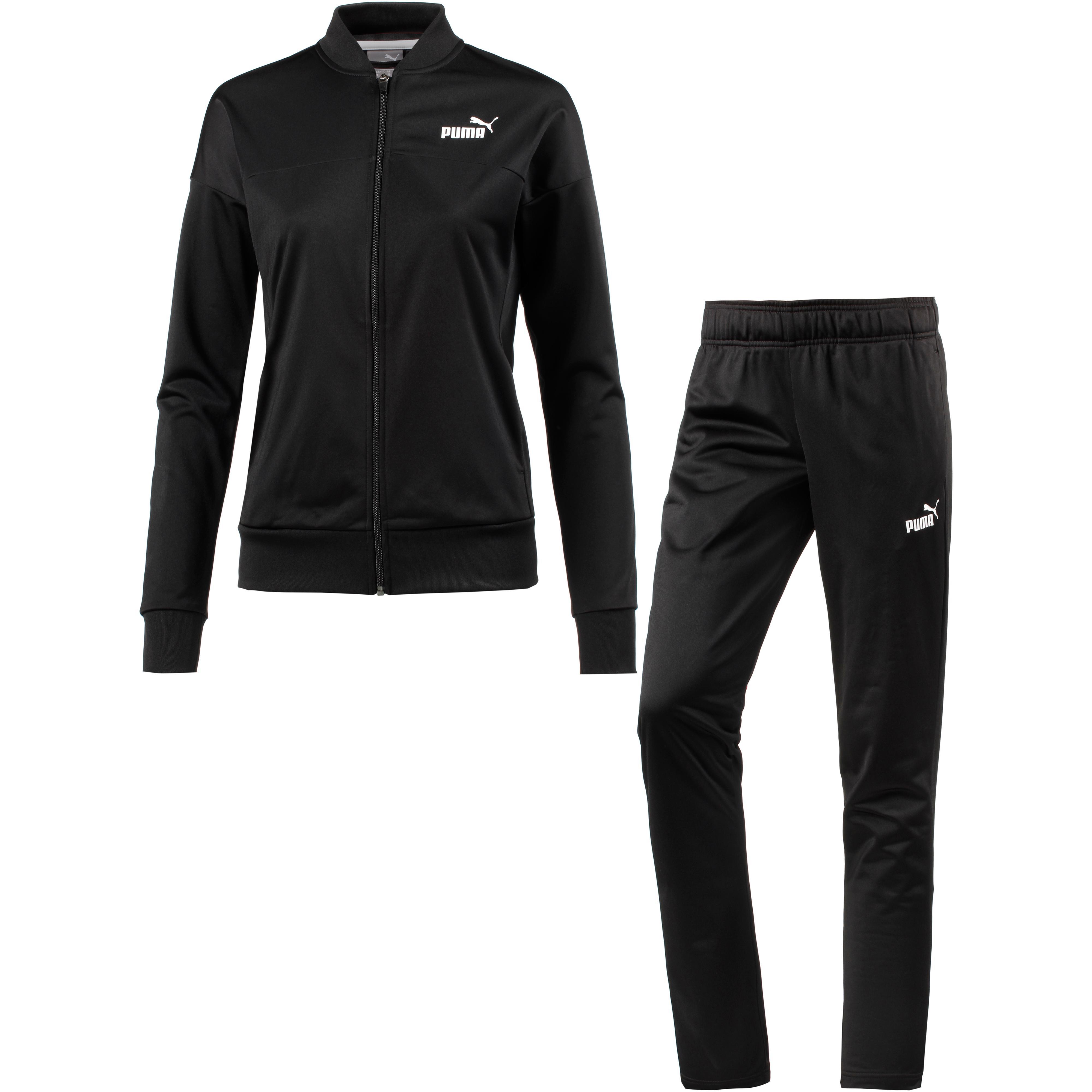 PUMA Classic Trainingsanzug Damen puma black im Online Shop von SportScheck  kaufen