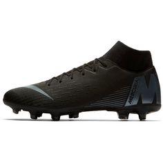 Nike MERCURIAL SUPERFLY 6 ACADEMY MG Fußballschuhe Herren black-anthracite-black-lt crimson