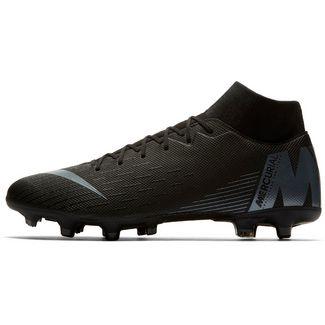 3382ccc32 Nike MERCURIAL SUPERFLY 6 ACADEMY MG Fußballschuhe  black-anthracite-black-lt crimson