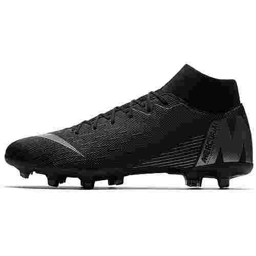 Nike MERCURIAL SUPERFLY 6 ACADEMY MG Fußballschuhe black-anthracite-black-lt crimson