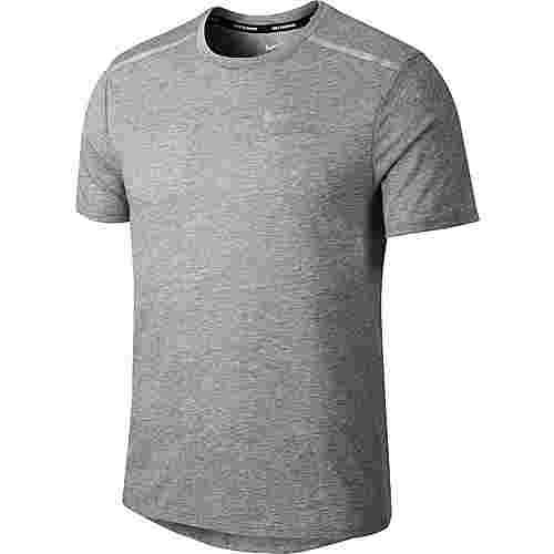 Nike Breathe Rise 365 Laufshirt Herren gunsmoke-heather-metallic-silverer-reflective-silver