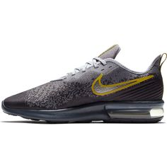 Nike Air Max Sequent 4 Sneaker Herren gridiron-mtlc pewter-provence purple