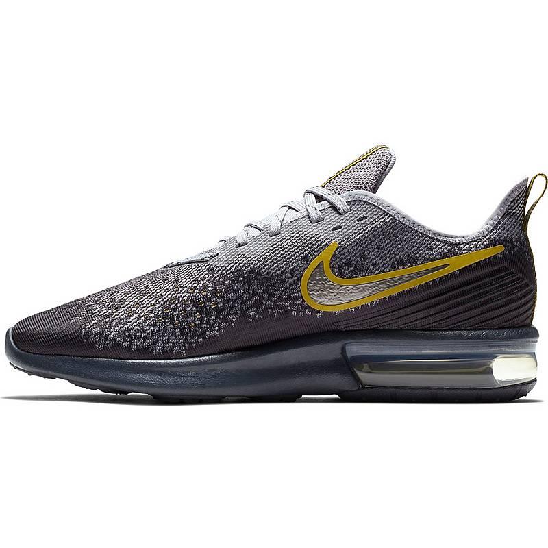 reputable site 111ba 926fd Nike Air Max Sequent 4 Sneaker Herren gridiron-mtlc pewter-provence purple