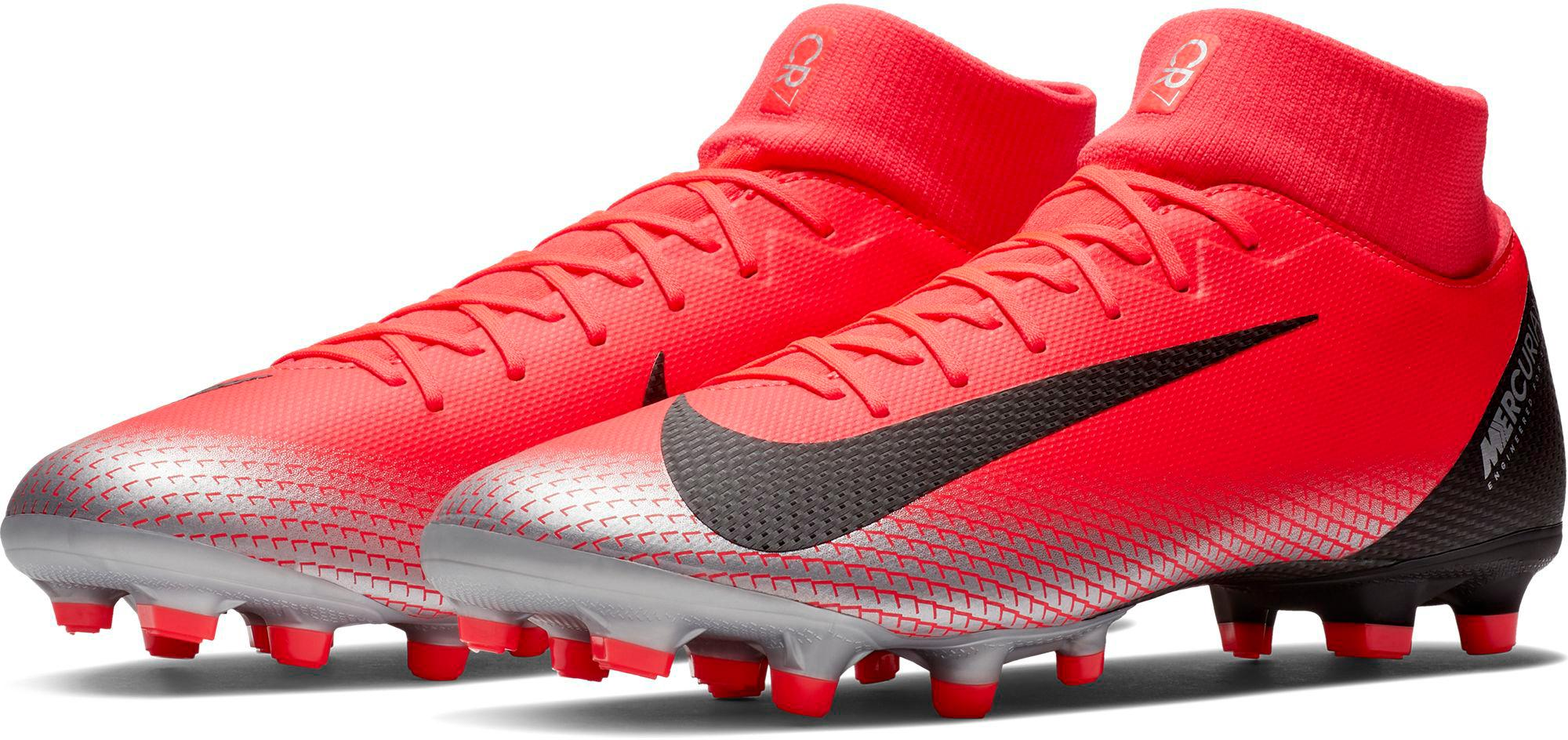 Nike Mercurial Vi CR7 Black Football Shoes Snapdeal