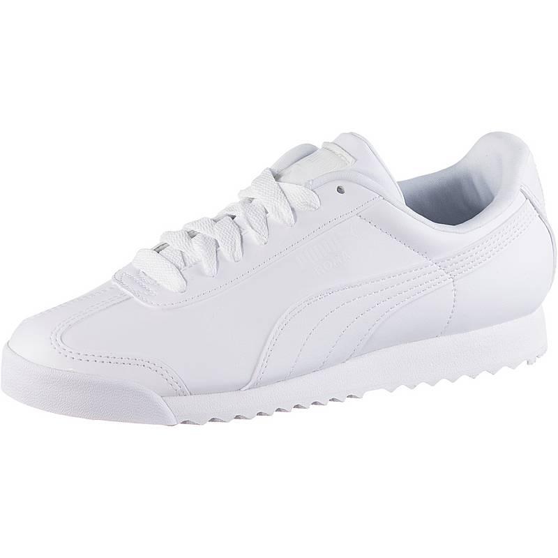 62a297f89158 ... australia puma roma basic sneaker damen white light gray 07ceb 5d9dd